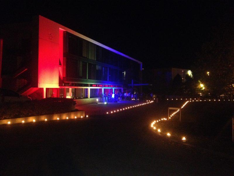 Mise en lumière de batiment -CCI de Chartres